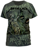 Metallica - Justice Neon All-Over T-Shirt