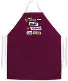 Hand Over The Wine Apron Forkle