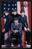 The Beatles - Flag Prints
