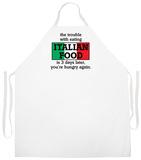 Italian Food Apron Forkle