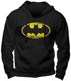 Hoodie: Batman - Logo Hoodie (over het hoofd)