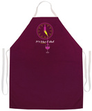 It'S Wine O'Clock Apron Forkle