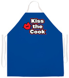 Kiss The Cook Apron Tablier