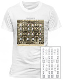 Led Zeppelin- Physical Graffiti (Front/Back) Vêtement