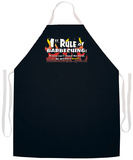 1St Rule Of Bbqing Apron Grembiule