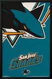 San Jose Sharks - Logo 14 Poster