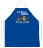 Vegetarians Welcome Apron Forkle