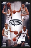 San Antonio Spurs - Team 14 Print