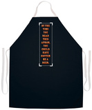 By The Time You Read This Apron Apron