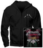 Hoodie: Metallica - Mop Faded - Pullover Hoodie