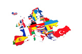 European Countries Prints by  artvitdiz