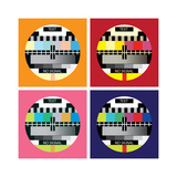 Tv Color Test in Pop Art Style - Illustration Prints by  i3alda