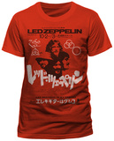 Led Zeppelin - Japanese Promo Poster T-shirts