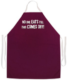 No One Eats Till Apron Forklæde