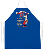 Grilling Wiener Apron Apron