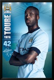 Manchester City Toure 14/15 Posters