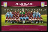 Aston Villa Team Photo 14/15 Poster