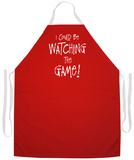 Watching The Game Apron Apron