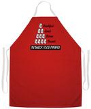 Redneck Food Pyramid Apron Forkle