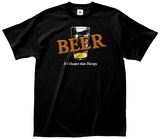 Beer Therapy Tee Shirts
