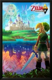 Legend Of Zelda - Two Worlds Prints