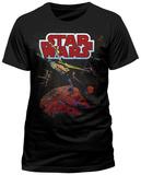 Star Wars - Xwing Gradient T-skjorte