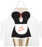 French Maid Apron Grembiule
