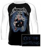 Raglan Sleeve: Metallica - Electric Chair T-Shirt