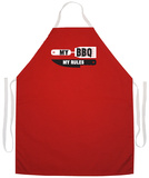 My Bbq My Rules Apron Apron
