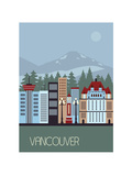 Vancouver Canada. Prints by  Ladoga