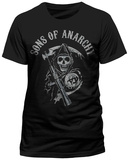 Sons Of Anarchy - Main Logo T-paita