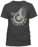 Foo Fighters - Winged Wheel Shirt