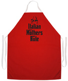 Italian Mother'S Rule Apron Forkle