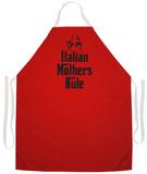 Italian Mother'S Rule Apron Apron