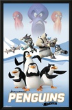Penguins Of Madagascar - Cast Poster