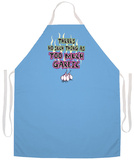 Too Much Garlic Apron Apron