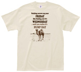 Realize It's Hump Day Tee T-shirts