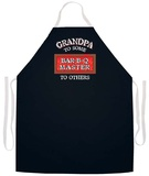 Grandpa Bar-B-Q Master Apron Apron