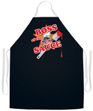 Boss Of The Sauce Apron Grembiule