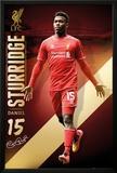 Liverpool Sturridge 14/15 Poster