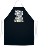Breakfast In Bed Apron Forkle