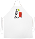 Bloody Mary Apron Delantal