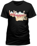 Led Zeppelin - Logo And Cloud T-Shirts