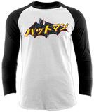 Raglan Sleeve: Batman - Japanese Logo T-Shirts
