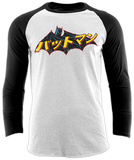 Raglan Sleeve: Batman - Japanese Logo T-shirts