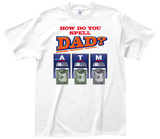 Spell Dad Tee T-shirts