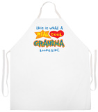 Real Cool Grandma Apron Apron