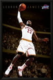 Cleveland Cavaliers - King James 14 Poster
