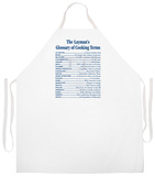 Cooking Terms Apron Apron