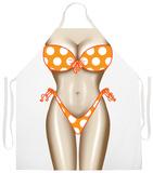 Polka Dot Bikini Apron Apron